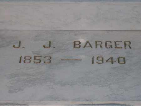 BARGER, JOHNSON J. - Hancock County, Illinois   JOHNSON J. BARGER - Illinois Gravestone Photos