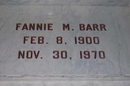 BARR, FANNIE MARGARET - Hancock County, Illinois | FANNIE MARGARET BARR - Illinois Gravestone Photos