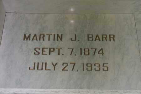 BARR, MARTIN JOHN - Hancock County, Illinois | MARTIN JOHN BARR - Illinois Gravestone Photos