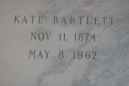 BARTLETT, KATE L. - Hancock County, Illinois | KATE L. BARTLETT - Illinois Gravestone Photos