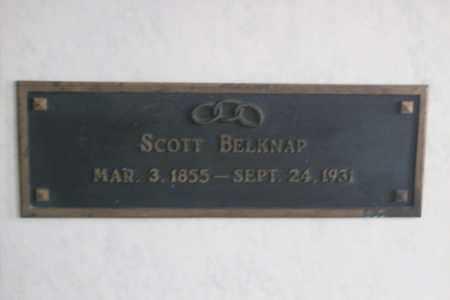 BELKNAP, SCOTT - Hancock County, Illinois   SCOTT BELKNAP - Illinois Gravestone Photos
