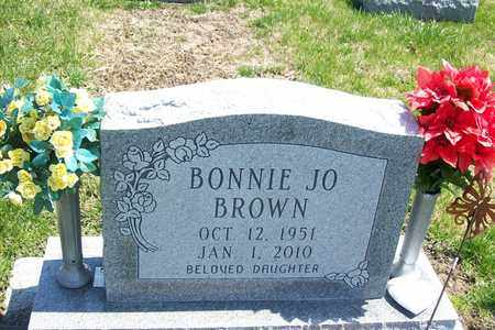 BROWN, BONNIE JO - Hancock County, Illinois | BONNIE JO BROWN - Illinois Gravestone Photos