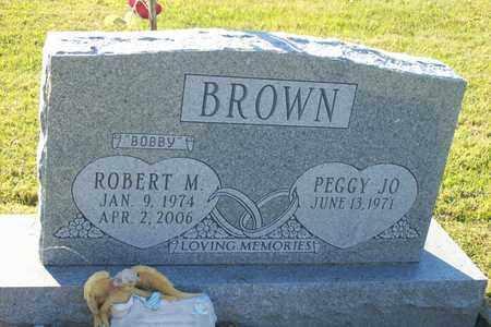 BROWN, ROBERT M. - Hancock County, Illinois | ROBERT M. BROWN - Illinois Gravestone Photos