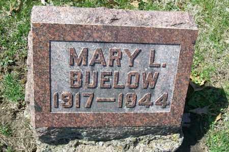 BUELOW, MARY LOUISE - Hancock County, Illinois | MARY LOUISE BUELOW - Illinois Gravestone Photos