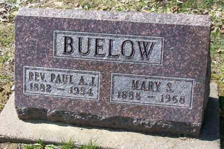 BUELOW, MARY S. - Hancock County, Illinois | MARY S. BUELOW - Illinois Gravestone Photos