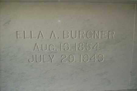 THOMPSON BURGNER, ELLA ANN - Hancock County, Illinois | ELLA ANN THOMPSON BURGNER - Illinois Gravestone Photos