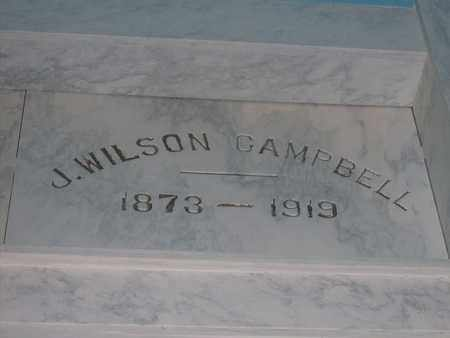 CAMPBELL, JAMES WILSON - Hancock County, Illinois | JAMES WILSON CAMPBELL - Illinois Gravestone Photos