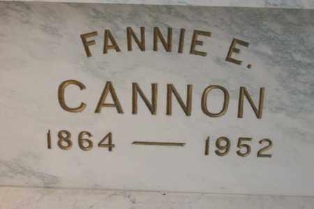 HUEY CANNON, FRANCES E. - Hancock County, Illinois | FRANCES E. HUEY CANNON - Illinois Gravestone Photos