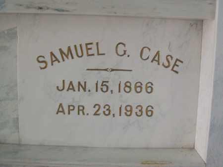 CASE, SAMUEL GRANT - Hancock County, Illinois | SAMUEL GRANT CASE - Illinois Gravestone Photos
