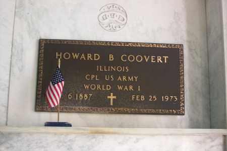 COOVERT, CORP. HOWARD BROKAW - Hancock County, Illinois | CORP. HOWARD BROKAW COOVERT - Illinois Gravestone Photos