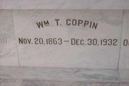 COPPIN, WILLIAM TROWEL - Hancock County, Illinois | WILLIAM TROWEL COPPIN - Illinois Gravestone Photos