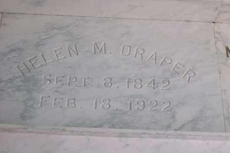 DRAPER, HELEN M. - Hancock County, Illinois | HELEN M. DRAPER - Illinois Gravestone Photos