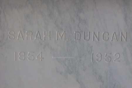 DUNCAN, SARAH M. - Hancock County, Illinois | SARAH M. DUNCAN - Illinois Gravestone Photos