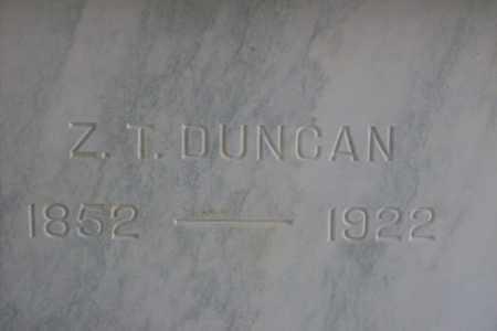 DUNCAN, ZACHARIAS T. - Hancock County, Illinois   ZACHARIAS T. DUNCAN - Illinois Gravestone Photos