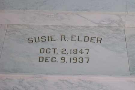 REILER ELDER, SUSIE - Hancock County, Illinois   SUSIE REILER ELDER - Illinois Gravestone Photos
