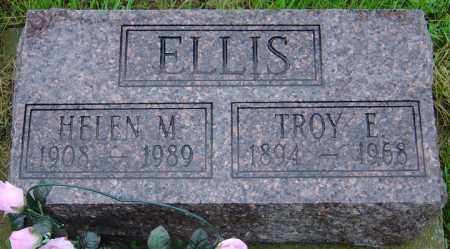 ELLIS, HELEN M. - Hancock County, Illinois | HELEN M. ELLIS - Illinois Gravestone Photos