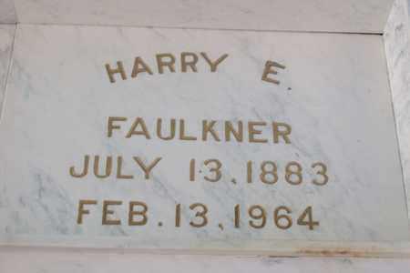 FAULKNER, HARRY ELMER - Hancock County, Illinois | HARRY ELMER FAULKNER - Illinois Gravestone Photos