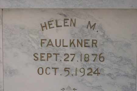 WALTON FAULKNER, HELEN M. - Hancock County, Illinois | HELEN M. WALTON FAULKNER - Illinois Gravestone Photos