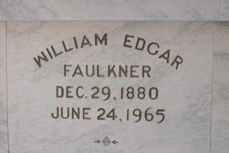 FAULKNER, WILLIAM EDGAR - Hancock County, Illinois | WILLIAM EDGAR FAULKNER - Illinois Gravestone Photos