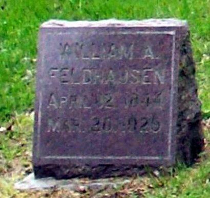 FELDHAUSEN (CW), WILLIAM A. - Hancock County, Illinois | WILLIAM A. FELDHAUSEN (CW) - Illinois Gravestone Photos