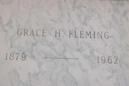 FLEMING, GRACE H. - Hancock County, Illinois | GRACE H. FLEMING - Illinois Gravestone Photos