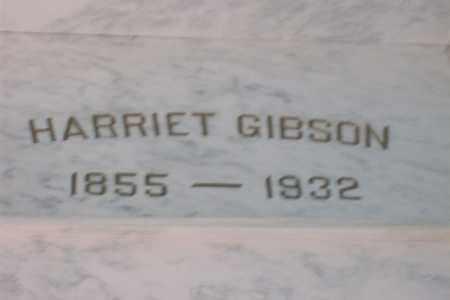 GIBSON, HARRIET P. - Hancock County, Illinois | HARRIET P. GIBSON - Illinois Gravestone Photos