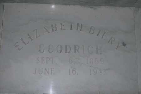 GOODRICH, CARRIE ELIZABETH - Hancock County, Illinois | CARRIE ELIZABETH GOODRICH - Illinois Gravestone Photos