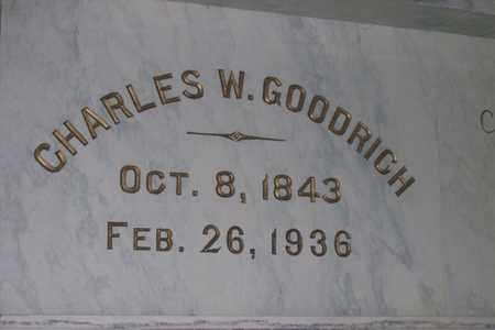 GOODRICH, CHARLES WESLEY - Hancock County, Illinois | CHARLES WESLEY GOODRICH - Illinois Gravestone Photos