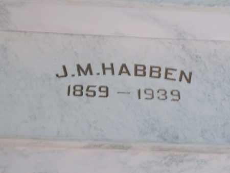 HABBEN, JOHN MIMKA - Hancock County, Illinois | JOHN MIMKA HABBEN - Illinois Gravestone Photos