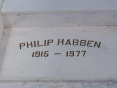 HABBEN, PHILIP - Hancock County, Illinois   PHILIP HABBEN - Illinois Gravestone Photos