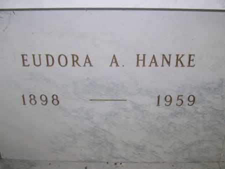 PETERSON HANKE, EUDORA A. - Hancock County, Illinois   EUDORA A. PETERSON HANKE - Illinois Gravestone Photos