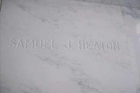 HEATON, SAMUEL JAMES - Hancock County, Illinois | SAMUEL JAMES HEATON - Illinois Gravestone Photos