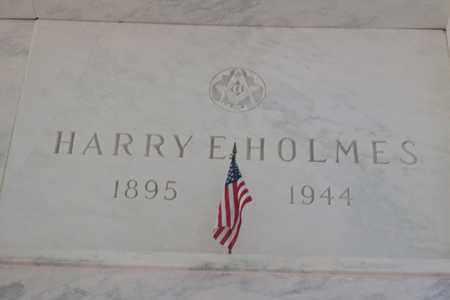 HOLMES, HARRY E. - Hancock County, Illinois | HARRY E. HOLMES - Illinois Gravestone Photos