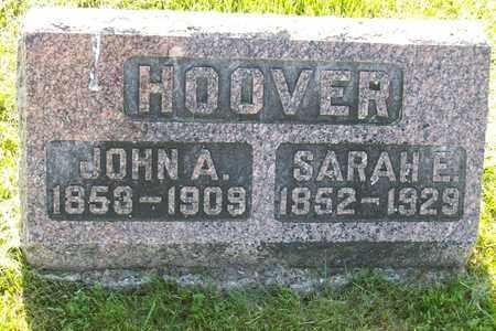 WILLIAMS HOOVER, SARAH ELLEN - Hancock County, Illinois | SARAH ELLEN WILLIAMS HOOVER - Illinois Gravestone Photos