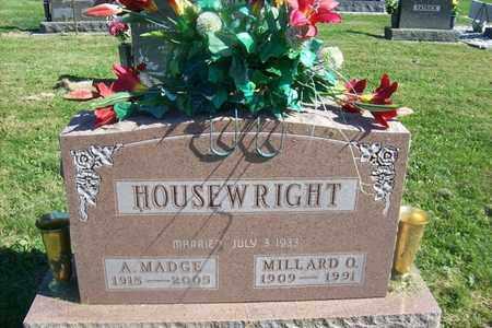 DUNN HOUSEWRIGHT, ANNA MADGE - Hancock County, Illinois | ANNA MADGE DUNN HOUSEWRIGHT - Illinois Gravestone Photos