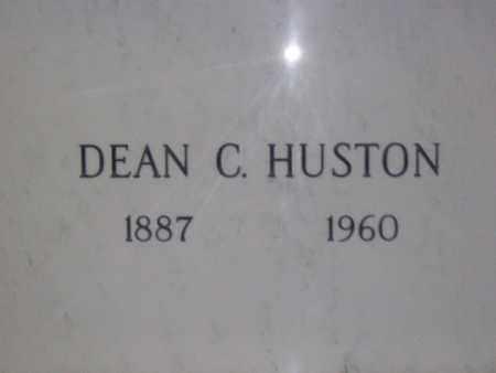 HUSTON, DEAN CALVIN - Hancock County, Illinois   DEAN CALVIN HUSTON - Illinois Gravestone Photos