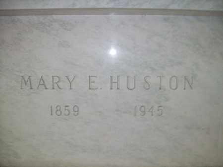 SPANGLER HUSTON, MARY EMILY - Hancock County, Illinois | MARY EMILY SPANGLER HUSTON - Illinois Gravestone Photos