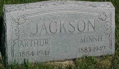 JACKSON, ARTHUR - Hancock County, Illinois | ARTHUR JACKSON - Illinois Gravestone Photos