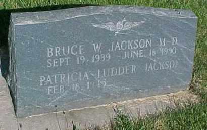 JACKSON, BRUCE W. - Hancock County, Illinois   BRUCE W. JACKSON - Illinois Gravestone Photos
