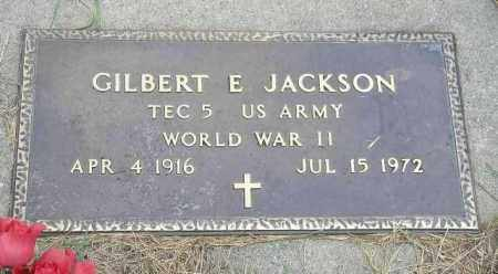 JACKSON, GILBERT E. - Hancock County, Illinois | GILBERT E. JACKSON - Illinois Gravestone Photos