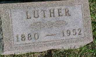 JACKSON, LUTHER - Hancock County, Illinois | LUTHER JACKSON - Illinois Gravestone Photos