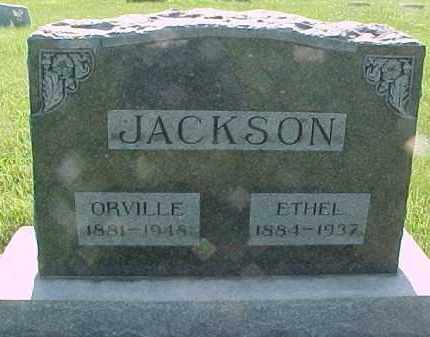 JACKSON, LAURA ETHEL - Hancock County, Illinois | LAURA ETHEL JACKSON - Illinois Gravestone Photos