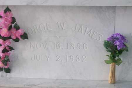 JAMES, GEORGE WASHINGTON - Hancock County, Illinois | GEORGE WASHINGTON JAMES - Illinois Gravestone Photos