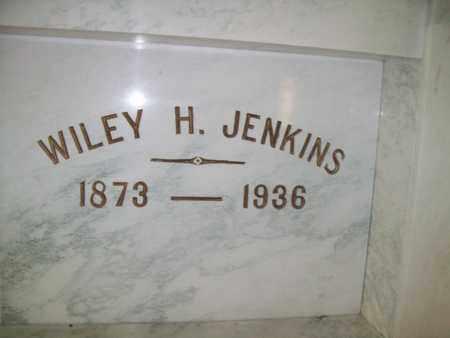 JENKINS, WILEY HARDING - Hancock County, Illinois   WILEY HARDING JENKINS - Illinois Gravestone Photos