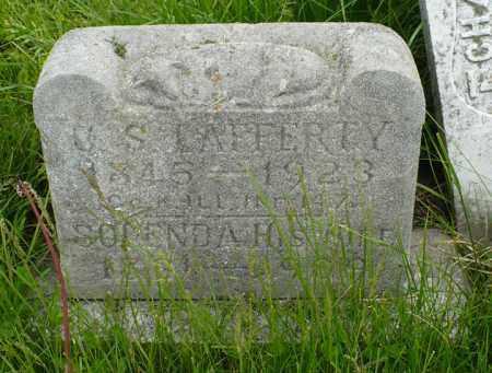 LAFFERTY, SOLENDA - Hancock County, Illinois | SOLENDA LAFFERTY - Illinois Gravestone Photos