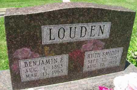 LOUDEN, RUTH - Hancock County, Illinois | RUTH LOUDEN - Illinois Gravestone Photos