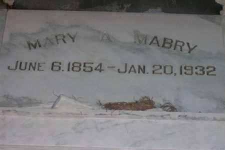 NESTER MABRY, MARY ABYGALE - Hancock County, Illinois | MARY ABYGALE NESTER MABRY - Illinois Gravestone Photos