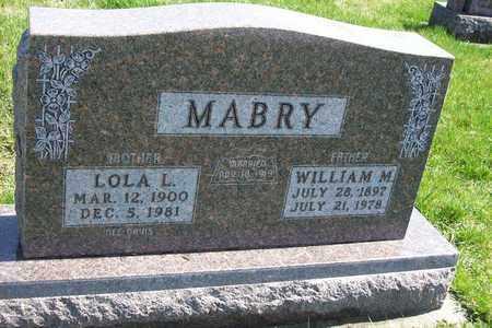 MABRY, WILLIAM MCKINLEY - Hancock County, Illinois | WILLIAM MCKINLEY MABRY - Illinois Gravestone Photos
