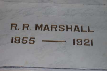 MARSHALL, ROBERT RICE - Hancock County, Illinois | ROBERT RICE MARSHALL - Illinois Gravestone Photos
