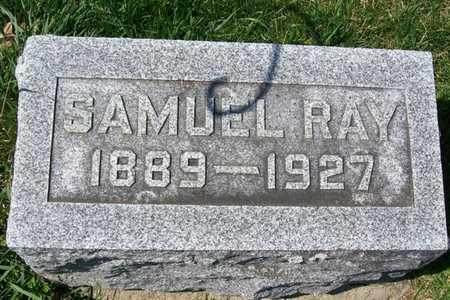MCCALLISTER, SAMUEL RAYMOND - Hancock County, Illinois | SAMUEL RAYMOND MCCALLISTER - Illinois Gravestone Photos